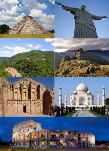 De 7 wereld wonderen