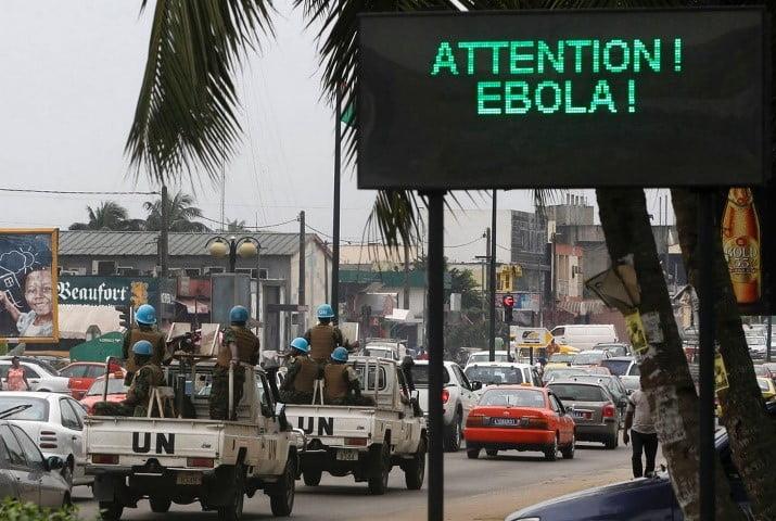 Ebola waarschuwing